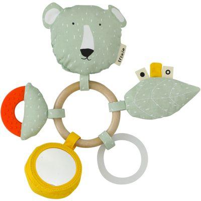 Anneau hochet d'activités ours Mr. Polar Bear  par Trixie