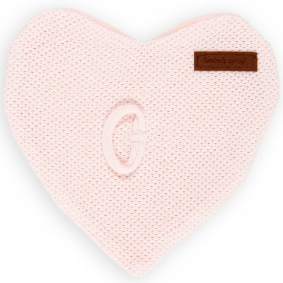 Attache sucette Classic coeur rose classic Baby's Only