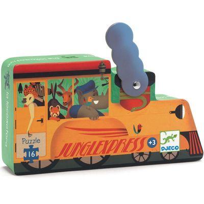Puzzle La locomotive (16 pièces)  par Djeco
