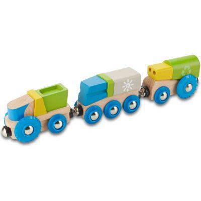 Train de recyclage  par EverEarth