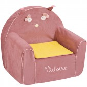 Fauteuil club Mademoiselle et Ribambelle personnalisable - Moulin Roty