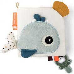 Livre bébé en tissu poissons Sea friends