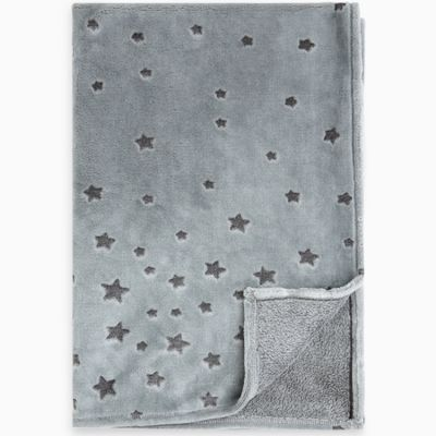 Couverture bébé Weekend Constellation étoiles bleue  par Tuc Tuc