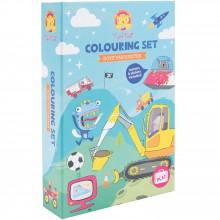 Kit de coloriage Univers garçon  par Tiger Tribe
