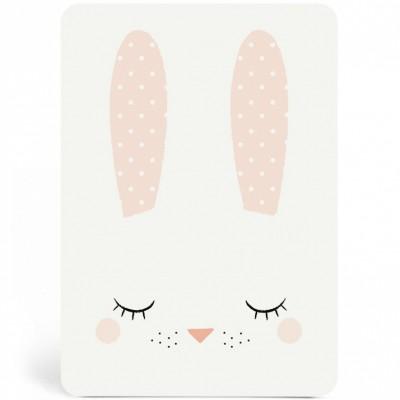 Carte Bunny fille Zü