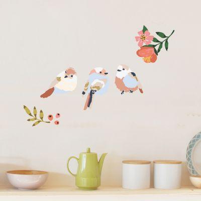 Stickers Just a touch Oiseaux (26 x 19 cm)  par Mimi'lou