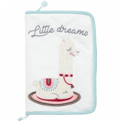 Protège carnet de santé Little Lama  par Little Band