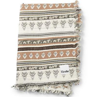 Couverture en coton froissé Desert Weaves (70 x 100 cm)  par Elodie Details