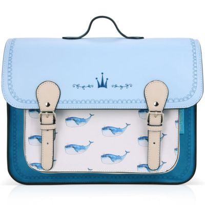 Cartable maternelle Baleine  par Les enfants rois