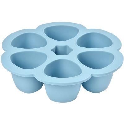 Moule de congélation multi portions silicone bleu (6 x 150 ml) Béaba
