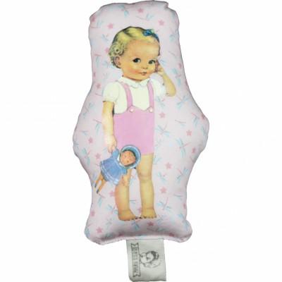 Doudou gling Blondinette Starfly (12 cm) Les Petits Vintage
