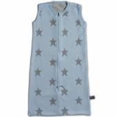 Gigoteuse légère Star bleu ciel et gris TOG 0.6 (90 cm) - Baby's Only