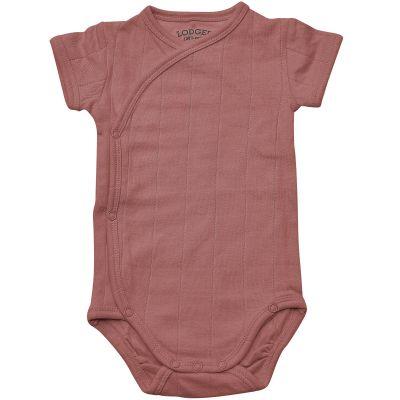 Body manches courtes rose foncé (0-2 mois : 51-56 cm)  par Lodger