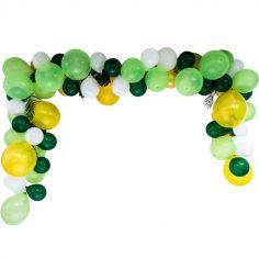 Kit pour arche à ballons verte Safari Graou