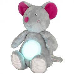 Veilleuse peluche Les Lumimagidoux souris (28 cm)