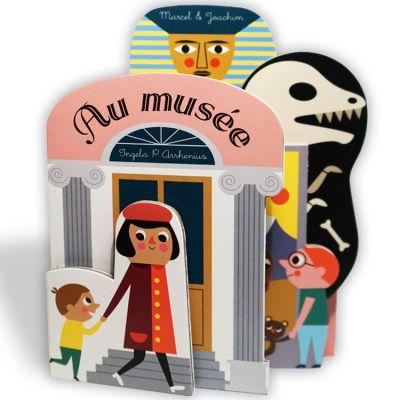 Mini livre Au Musée  par Marcel et Joachim