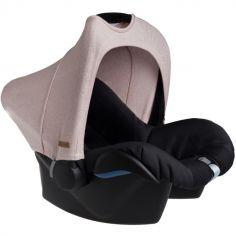 Canopy pour siège auto groupe 0+ rose Sparkle