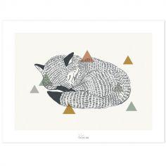 Affiche le renard (30 x 40 cm)