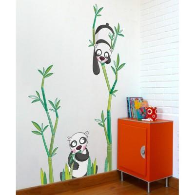 Sticker Le goûter des pandas  par Série-Golo