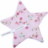 Doudou attache sucette Pink Blossom - Little Dutch