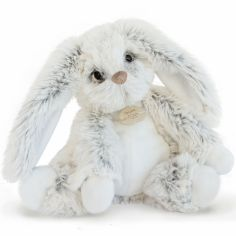 Peluche Lapin perle petit modèle (25 cm)