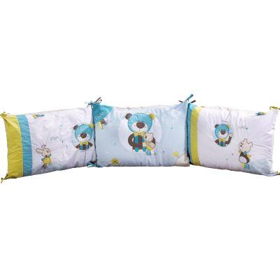 tour de lit paddy pour les lits 120 x 60 et 140 x 70 cm par sauthon baby d co. Black Bedroom Furniture Sets. Home Design Ideas