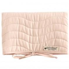 Tapis à langer Marbella coton bio Bloom pink