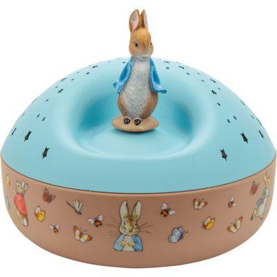 Projecteur d'étoiles musical Peter Rabbit  par Trousselier