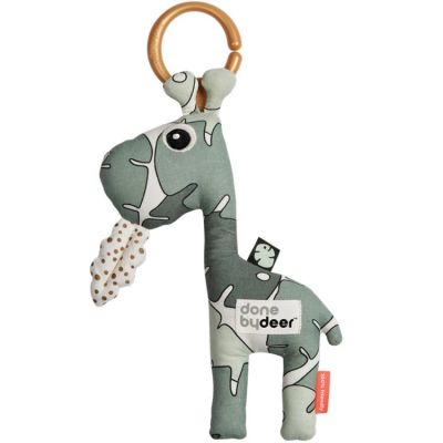 Jouet d'éveil à suspendre Raffi la girafe Tiny tropics  par Done by Deer
