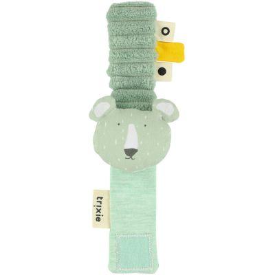 Hochet bracelet ours Mr. Polar Bear (21 cm)  par Trixie