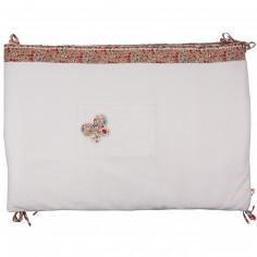 Tour de lit Liberty rouge (pour lits 60x120 et 70x140 cm)