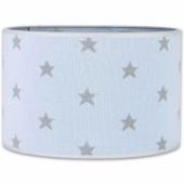 Abat-jour Star bleu ciel et gris (30 cm) - Baby's Only