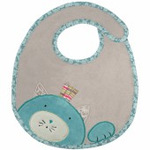 Bavoir chat Les Pachats - Moulin Roty