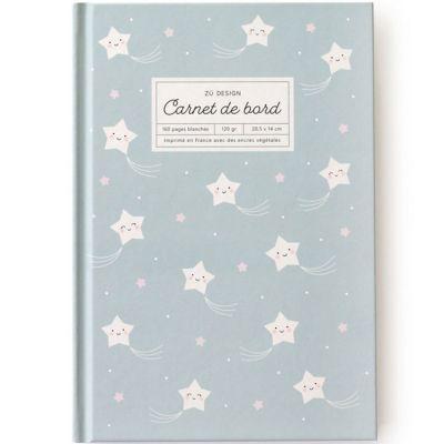Carnet de bord Etoile (160 pages blanches)