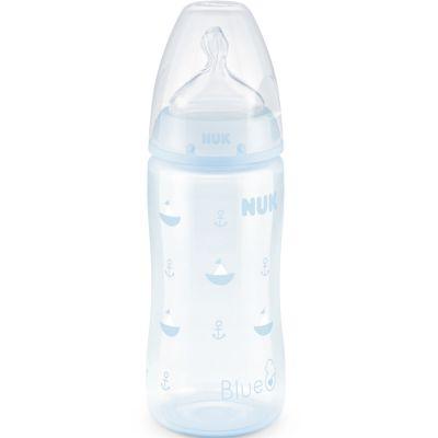Biberon First Choice + bleu (300 ml)  par NUK