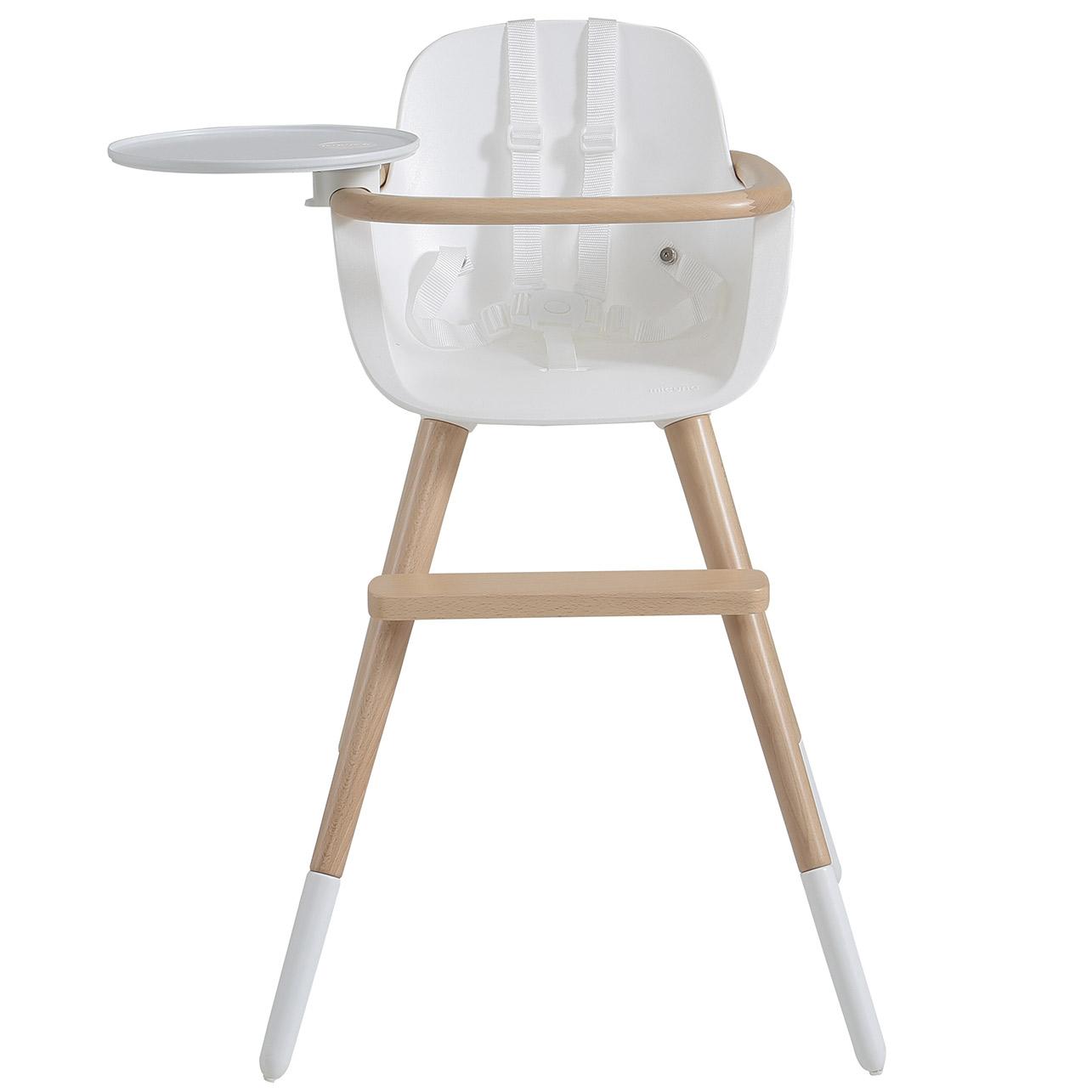 Chaise Évolutive Blanc Harnais Ovo Plus Haute One Avec hCrdxsQBto