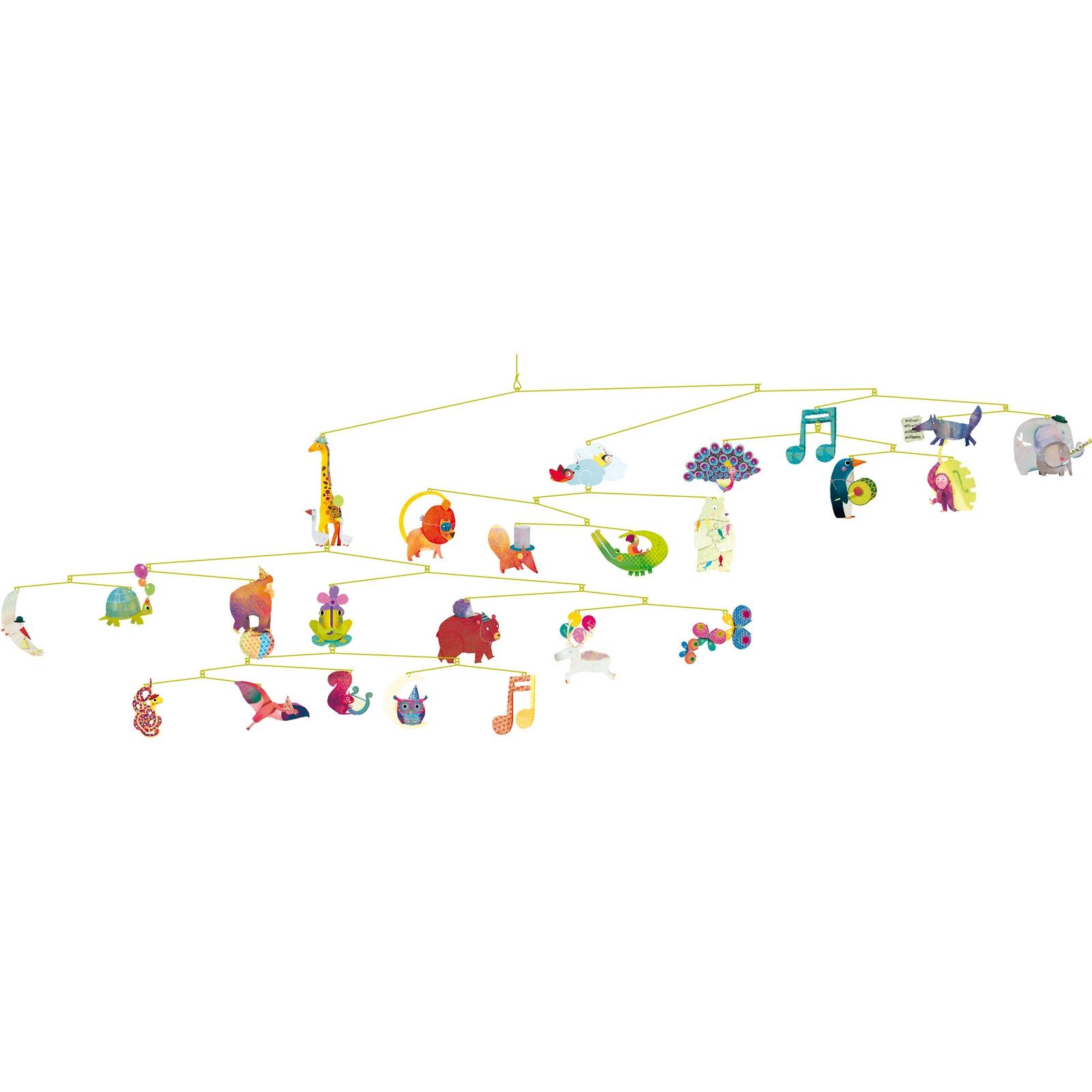 Mobile Bébé À Suspendre Au Plafond mobile carnaval des animaux