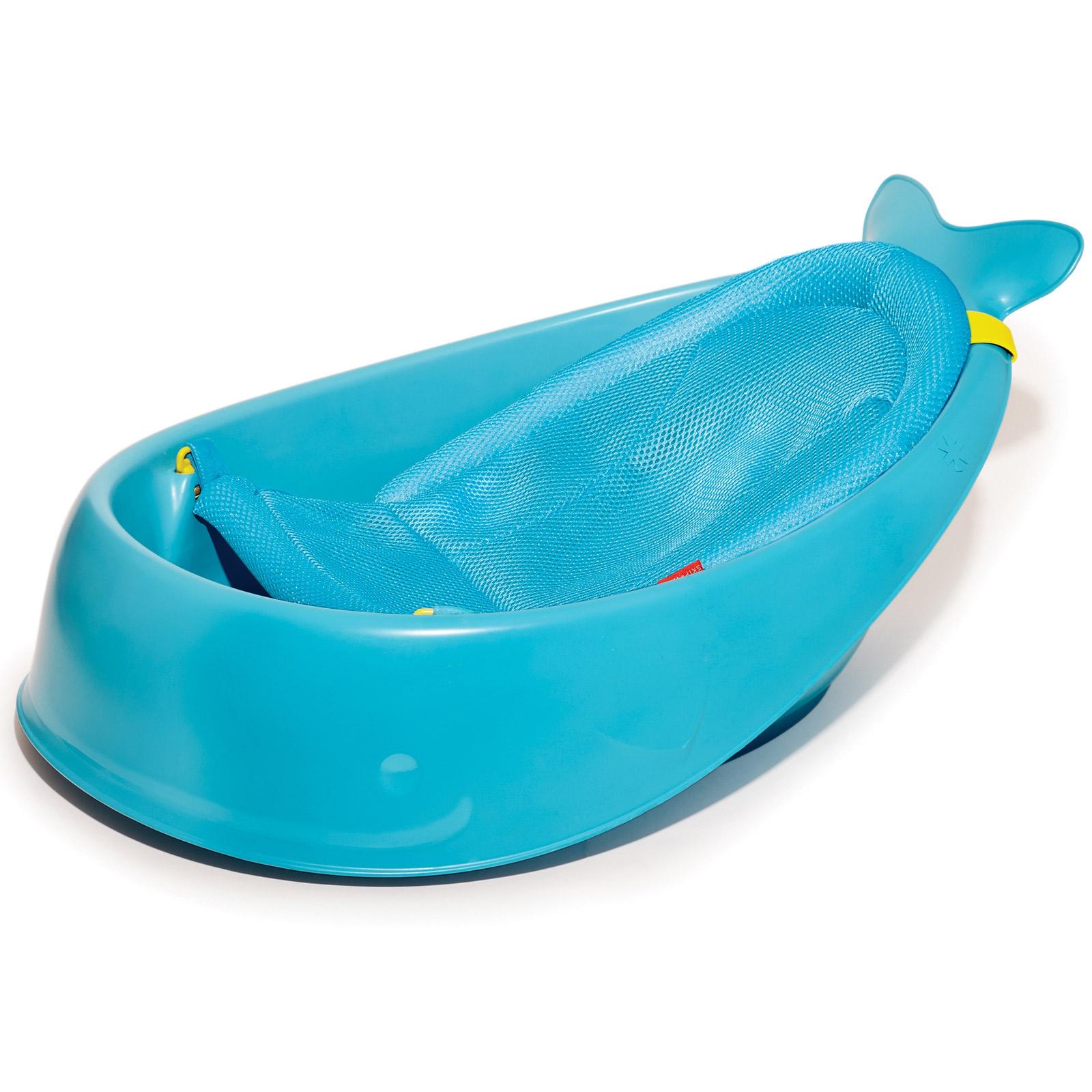 Baleine B/éb/é Support de Bain Infantile Douche Cadeau Coussin Baignoire Nouveau-N/é B/éb/é Chambre de B/éb/é Oreiller baleine Bleu