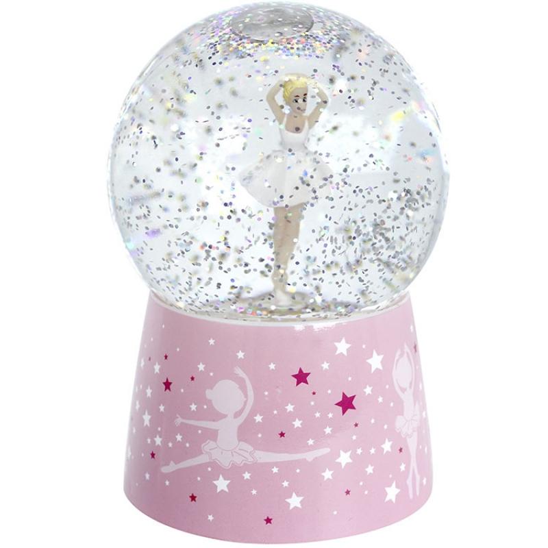 Chambre Danseuse Etoile à boule � neige musicale danseuse �toile : trousselier