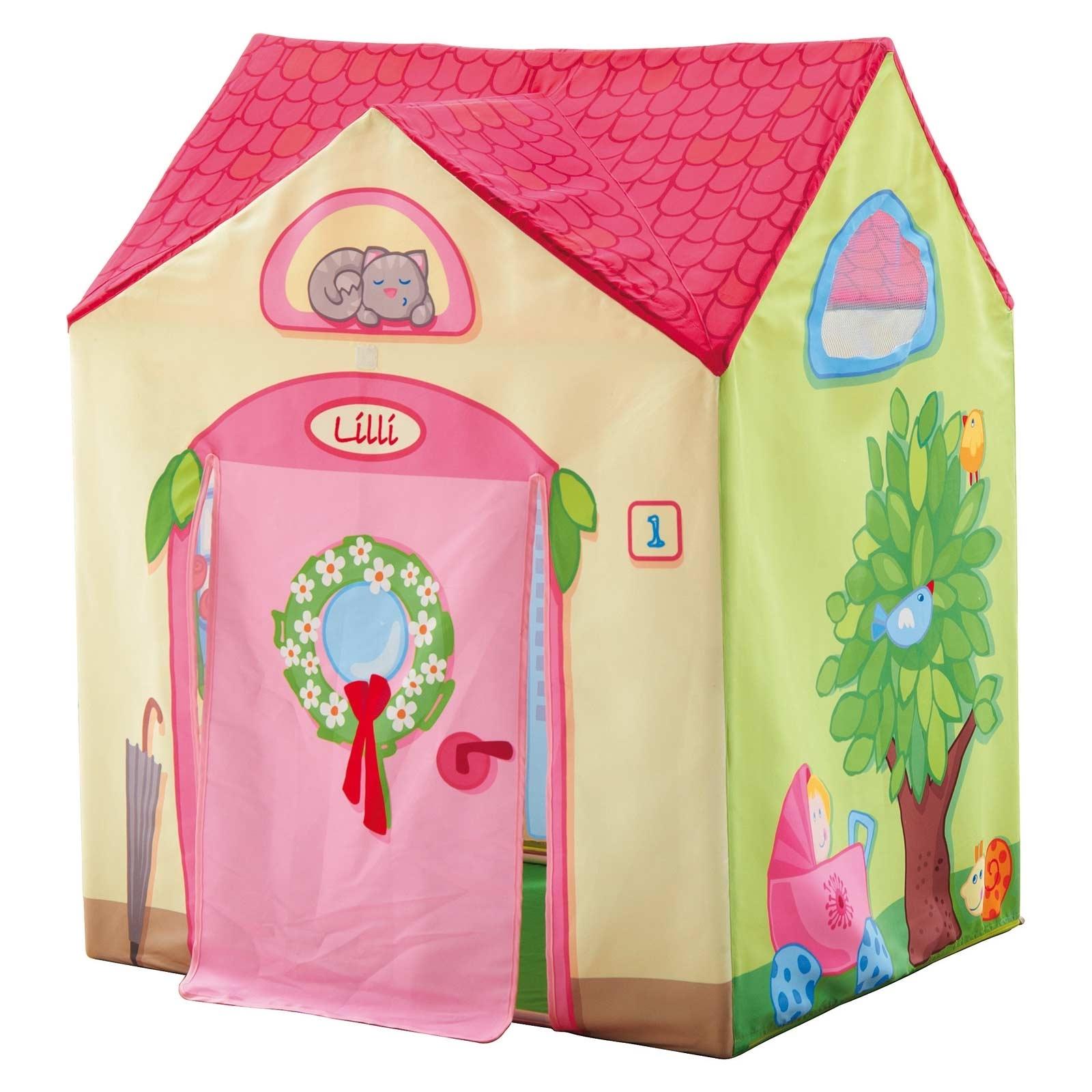 Tente Chambre Garcon avec tente de jeu la villa de lilli : haba - berceau magique