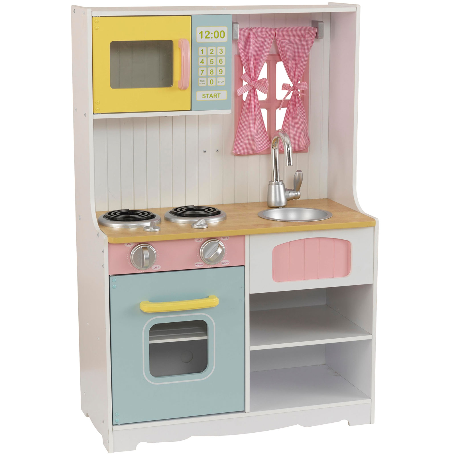 perfect fabriquer cuisine pour petite fille des cuisines pour enfant pour faire comme les grands. Black Bedroom Furniture Sets. Home Design Ideas