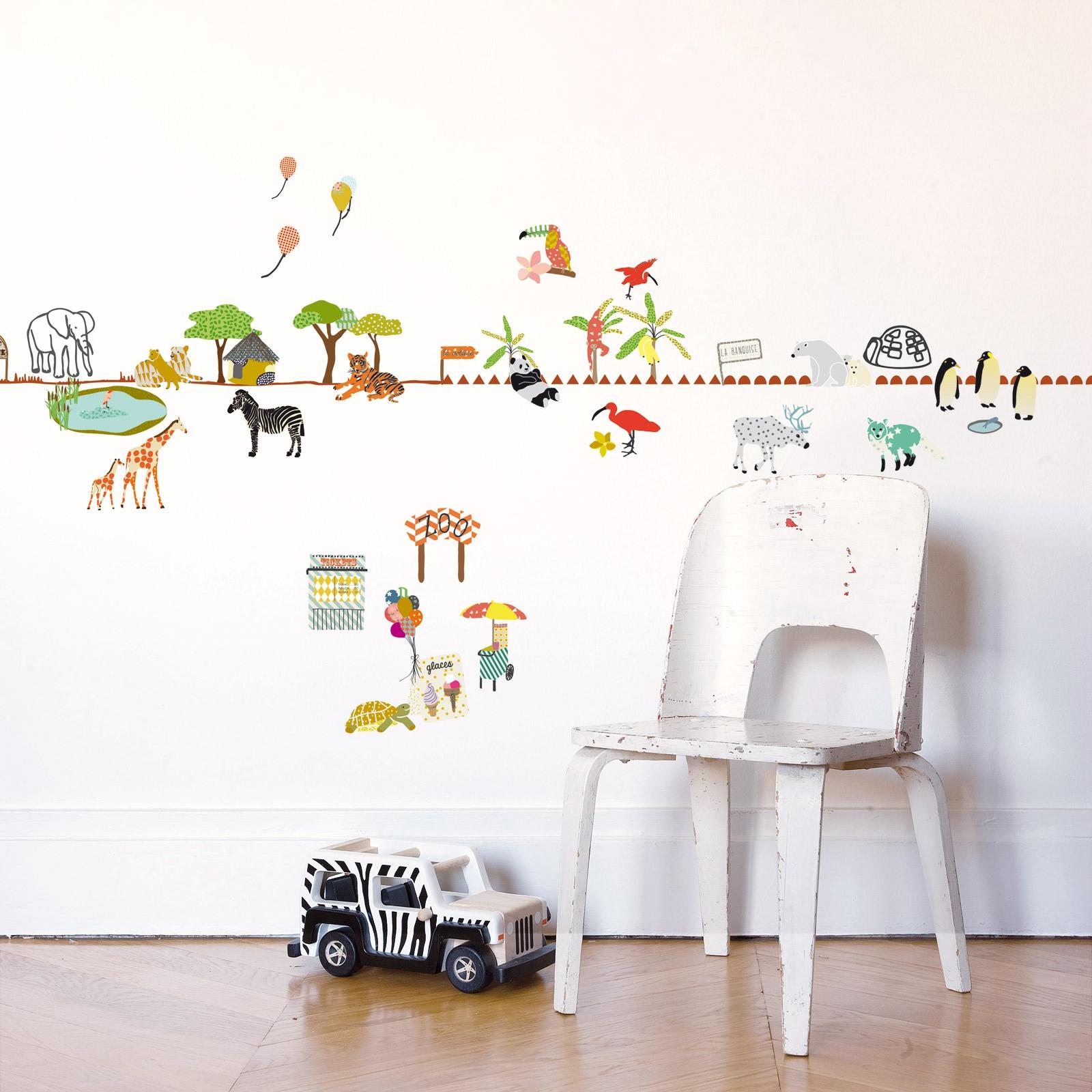 stickers nounours chambre bb nounours fleur lampe et stickers toise ourson et ballons merci. Black Bedroom Furniture Sets. Home Design Ideas