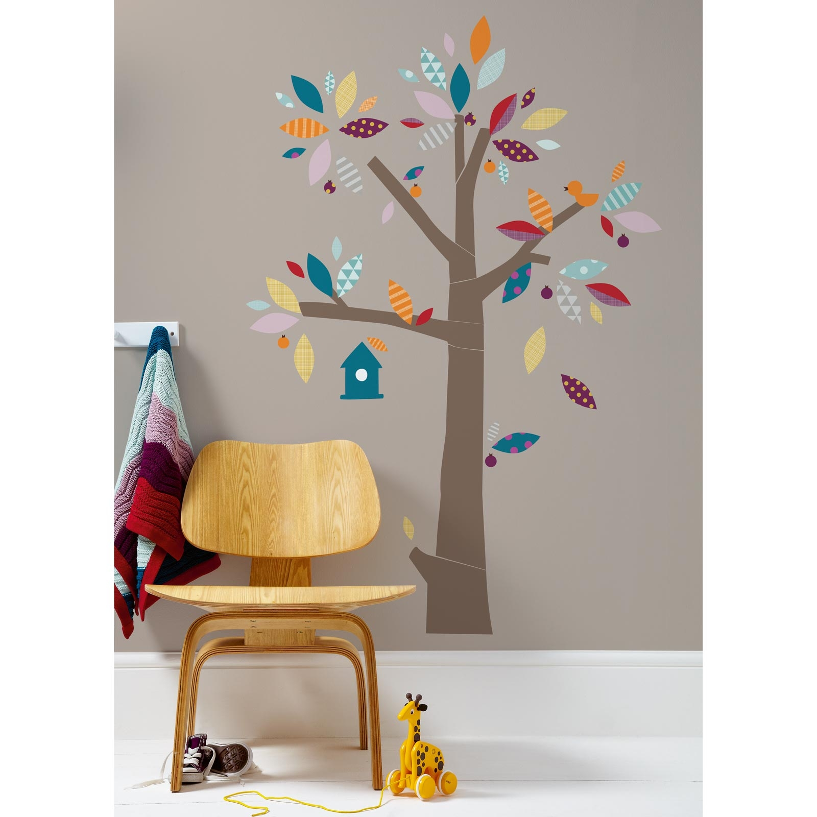 Sticker mural arbre Patternology Mamas and Papas