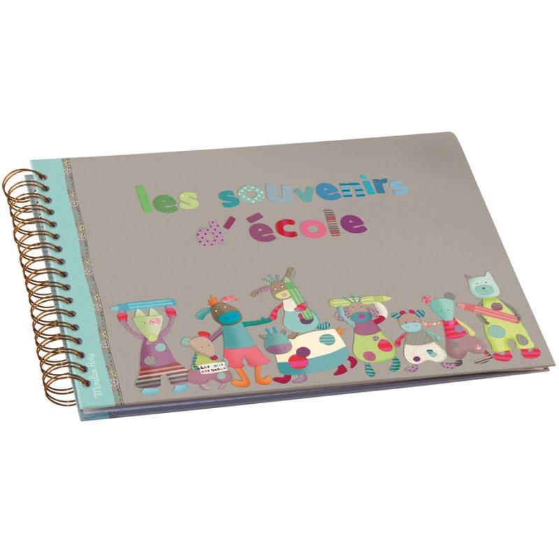 Exceptionnel Album souvenirs d'école Les jolis pas beaux (8 grandes UR67