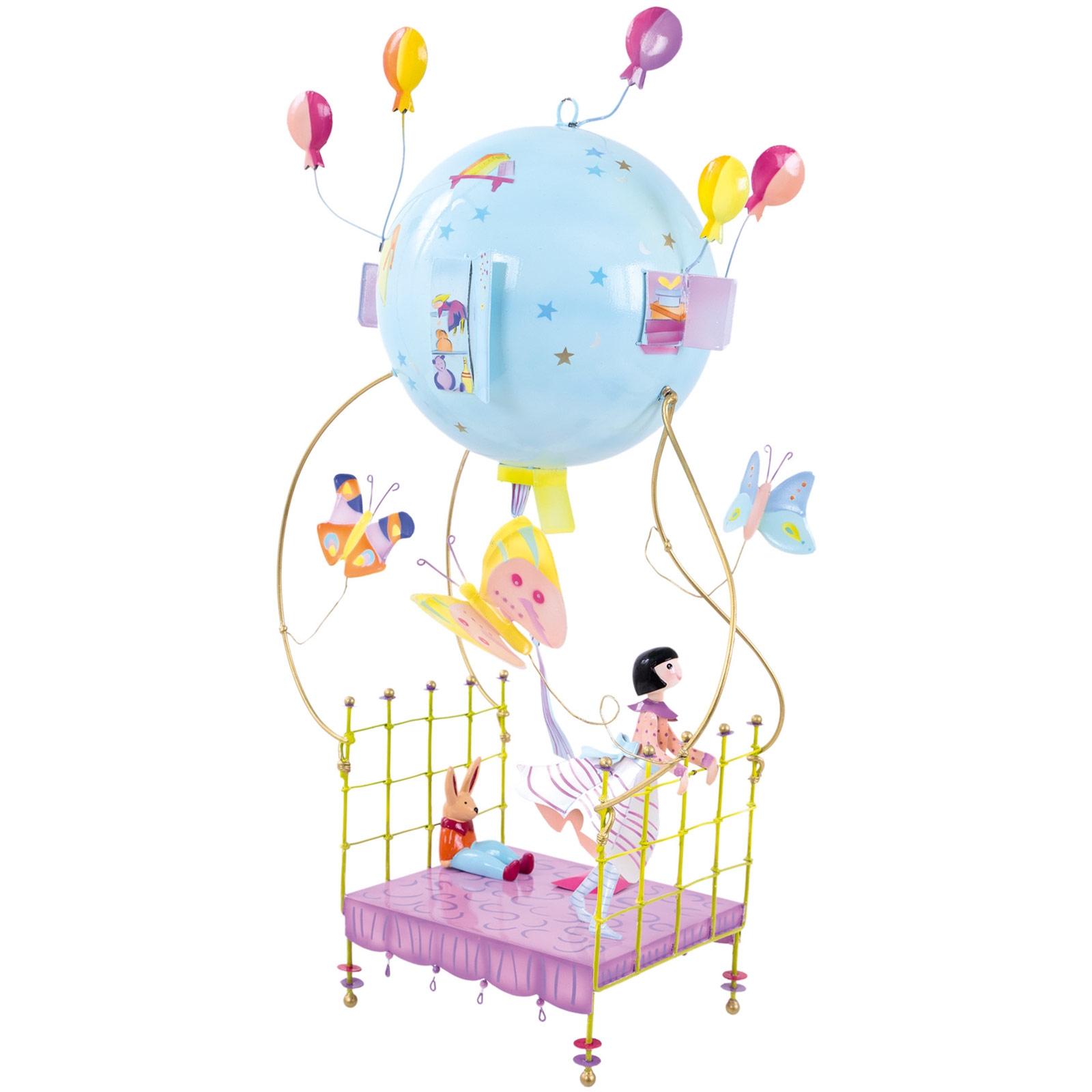 Mobile Bébé À Suspendre Au Plafond mobile décoratif schlumpeter la petite fille au lit volant