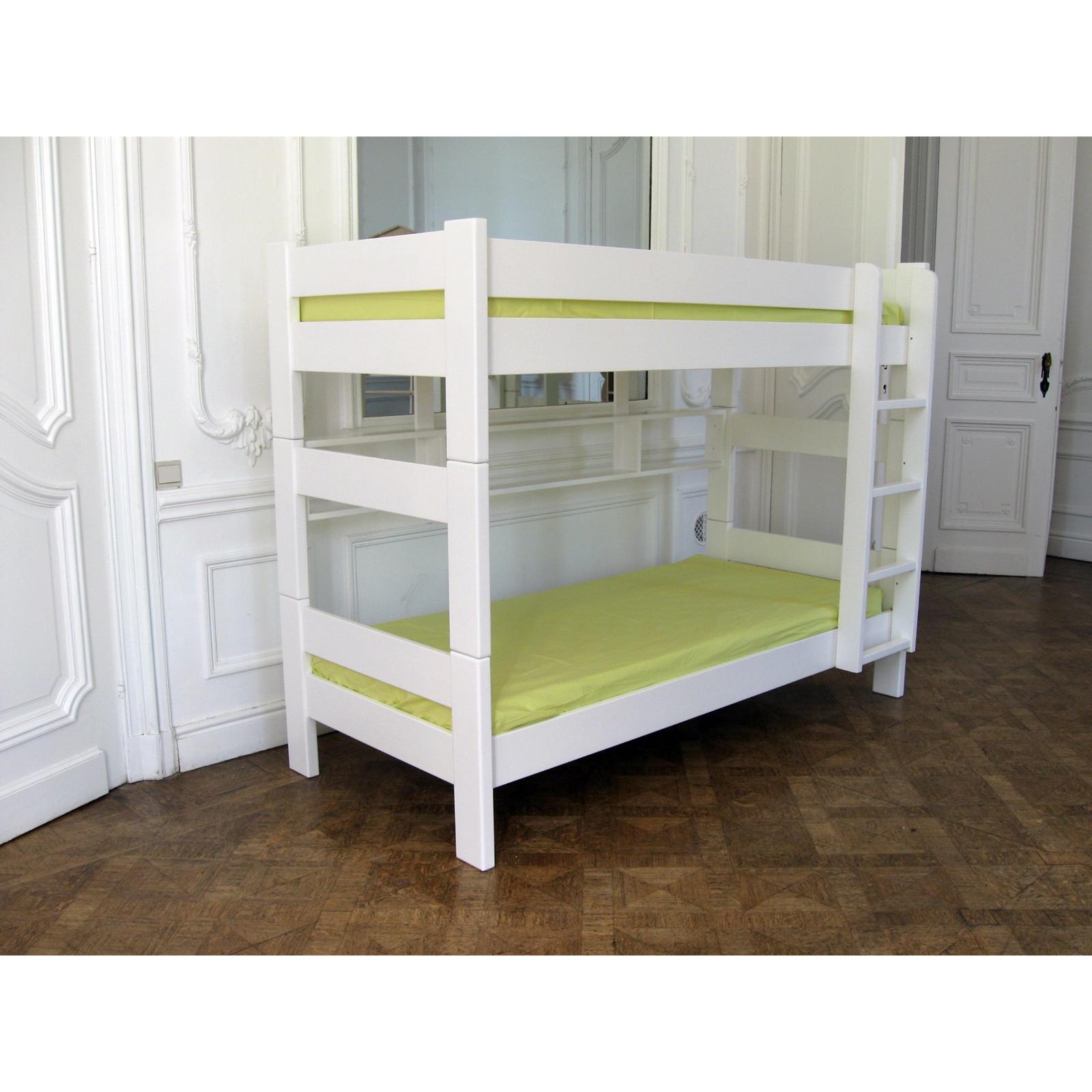lit superposé pour bébé - berceau magique