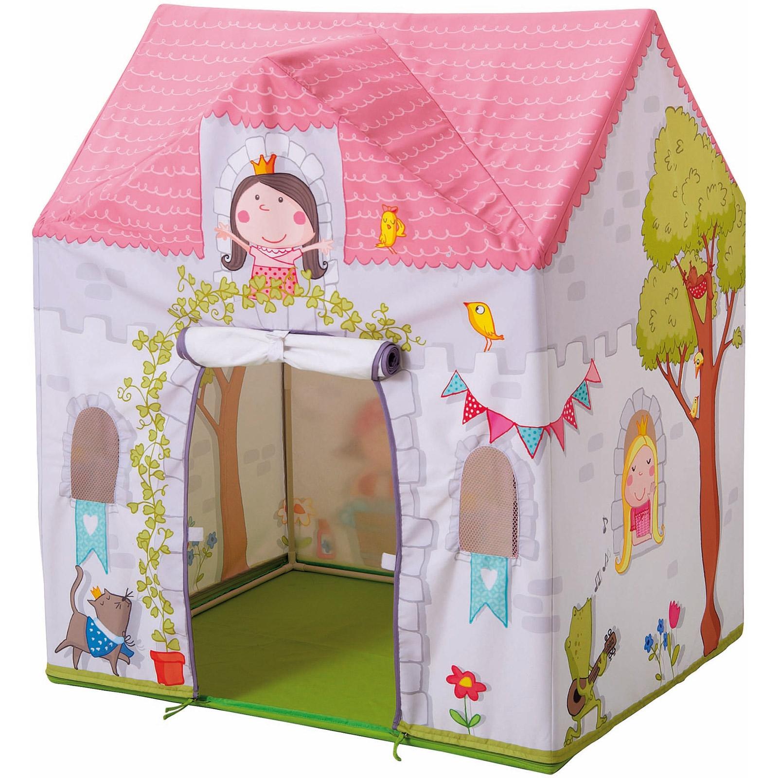 Tente Chambre Garcon concernant tente de jeu princesse rosalina : haba - berceau magique