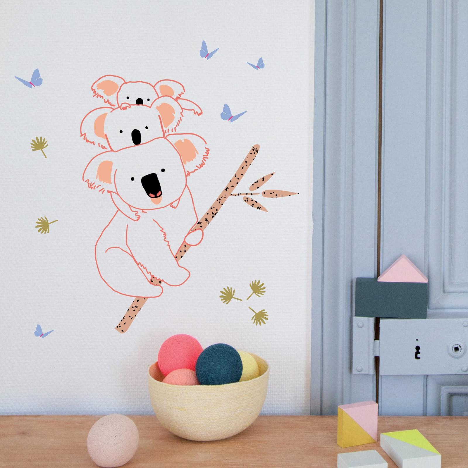 Stickers muraux Koala Berceau magique